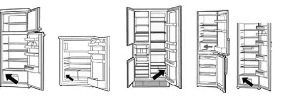 Recambios para frigorificos Liebherr
